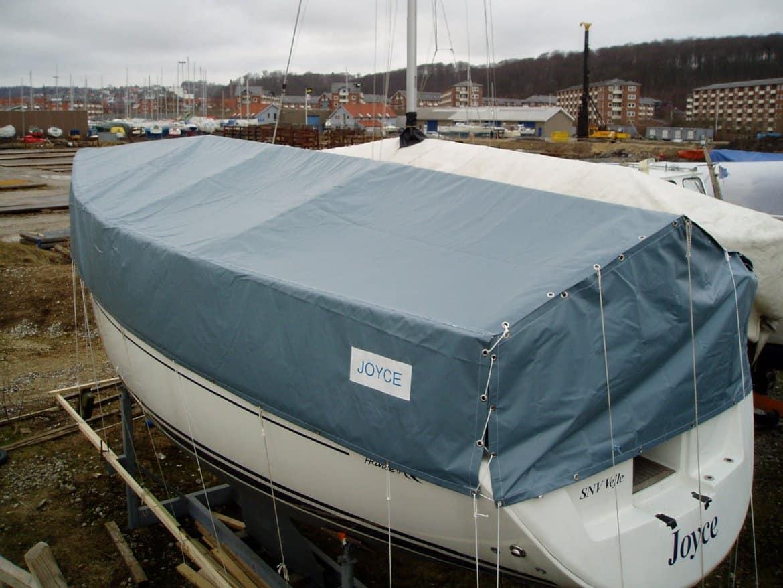 Vinterpresenning til båd