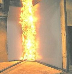 Brandhæmmende presenning