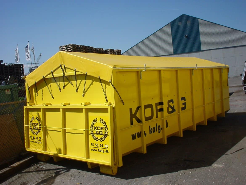Container presenning
