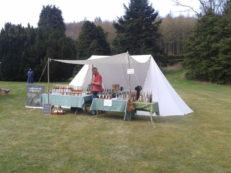 Salgsbod - Saxer telt