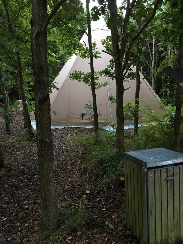 Teepee telte - Comwell Klarskovgaard