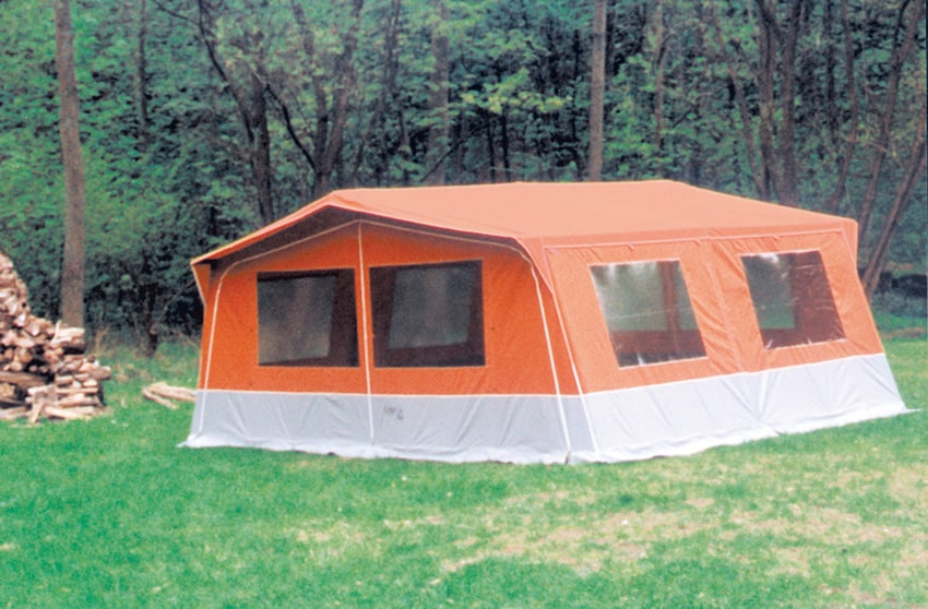Divisionstelt/Divided tent