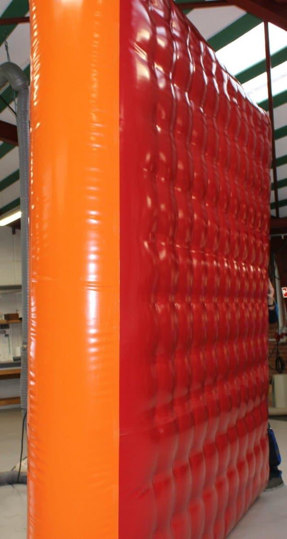 Terapipude rød orange