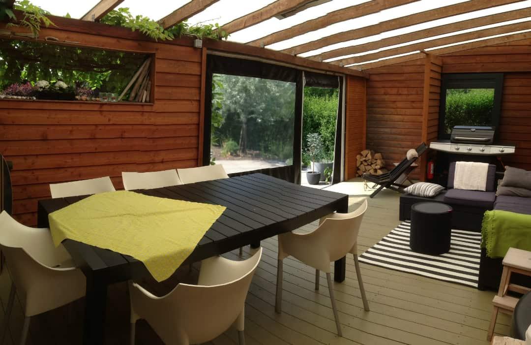 Afskærmning terrasse