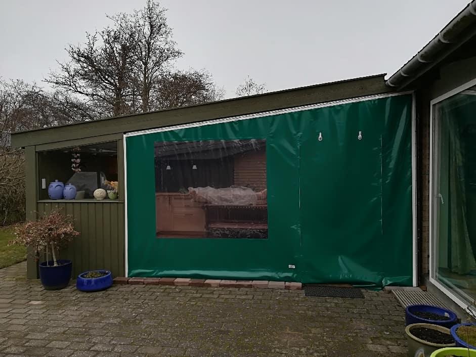 Terrasseafdækning - grønne sidestykker