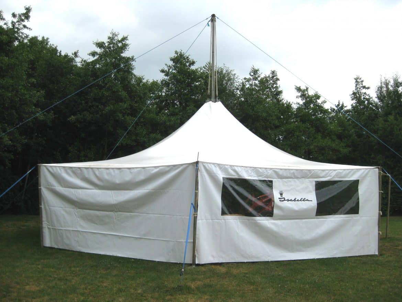 Løgballe Camping 12 m med sidestykker