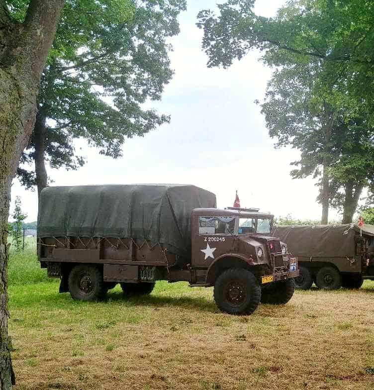 Militær lastbil Chevrolet