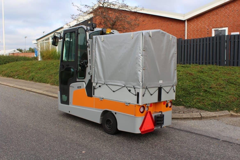 Presenningsopbygning til STILL vogn