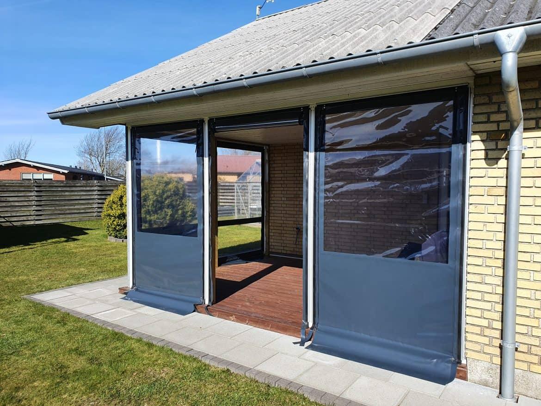 Terrasseafdækning i antracitgrå